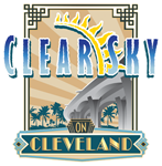 Clear Sky on Cleveland Sticky Logo