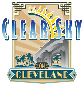 Clear Sky on Cleveland Sticky Logo Retina