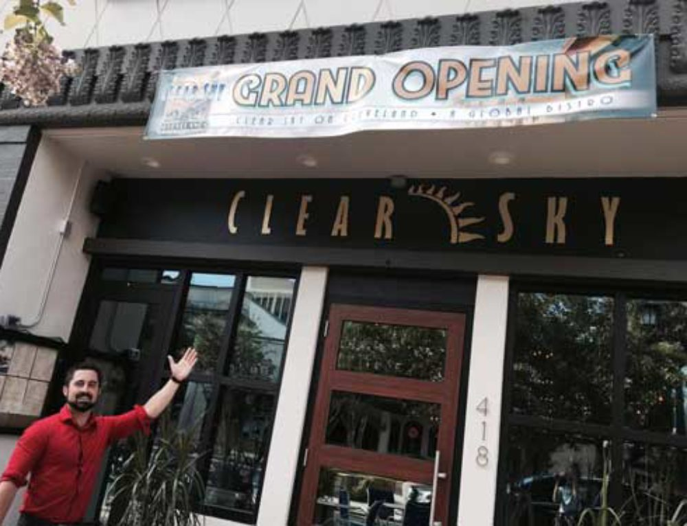 Clear Sky on Cleveland Now Open for Business